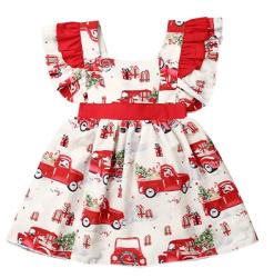 Amazon: Toddler Girl Christmas Dress for just $3.98 (Reg. $11.99)