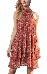 Amazon: Floral Boho Beach Dress ONLY $8.09