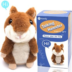 Amazon: Talking Hamster Plush JUST $4+ after Code!
