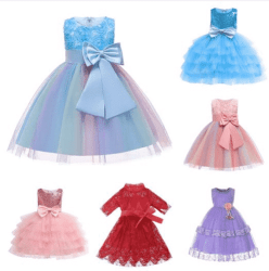 Amazon: 3D Flower Girl Dress for only $12.50 (Reg: $26.99)