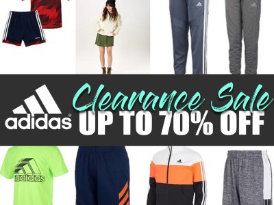 Kohl's: Adidas Sports and Fashion Wear, Clearance Sale Up to 70% off!