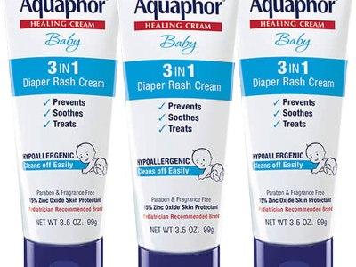 Amazon: Aquaphor Baby Diaper Rash Cream 3.5 Ounce, Pack of 3 for $13.48 (Reg. Price $23.97)