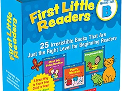 Amazon: First Little Readers Parent Pack for $8.23 (Reg. $20.99)