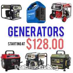 Walmart: Generators on Sale, starting at $128.00!