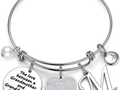 Amazon: Grandma Initial Charm Bracelet for $3.90 (Reg. Price $12.99) after code!