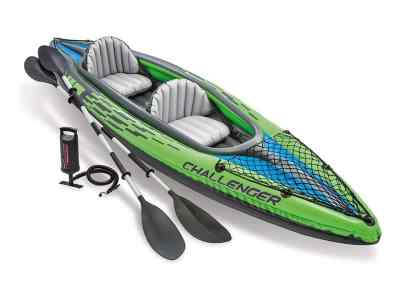 Amazon: Intex Challenger Kayak Inflatable Set with Aluminum Oars for $123.99 (Reg. Price $259.99)