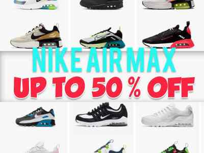 Nike: Air Max on Sale, Up to 50% off!
