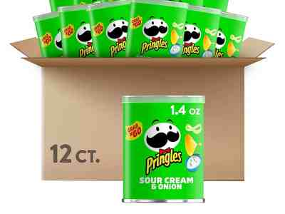 Amazon: Pringles Potato Crisps Chips, Just as low as $6.37 with subscribe and save!