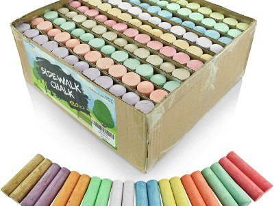 Amazon: Pack of 120 Multi-Color Jumbo Street Chalks, Just $13.59 (Reg $19.99)