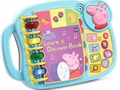 Amazon: VTech Peppa Pig Learn & Discover Book for $13.59 (Reg. Price $21.99)