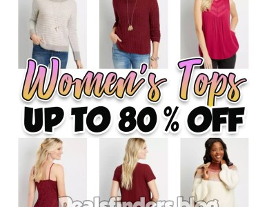 Maurices: Women's Top Wear, Up to 80% off!