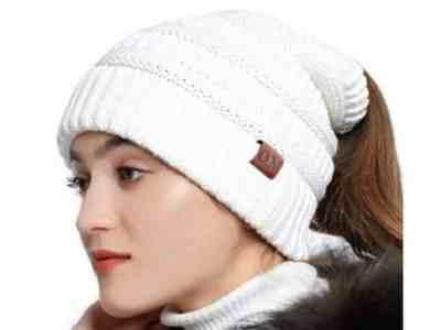 Amazon: Women's Knit Peruvian Beanie Hat for $4.90 (Reg. Price $13.99) after code!