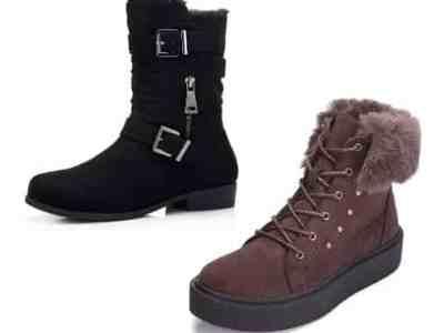 Amazon: Women's Winter Mid Calf Boots for $18.49-$21.49 (Reg. Price $36.99 – $42.99)