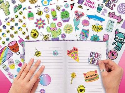 1000+ Stickers - 40-Page Sticker Book Only $4.99 on Amazon (Regularly $9)|
