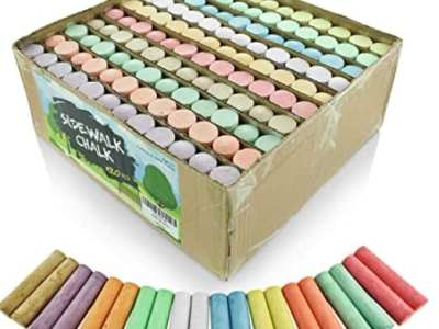 Amazon: 120 Multi-Color Jumbo Sidewalk Chalk Set for $13.59 (Reg $19.99)