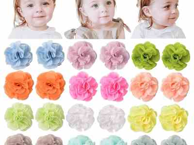 Amazon: 24 Pcs Baby Girls Hair Clips Bows for $6.47 (Reg.Price $12.95) after code!
