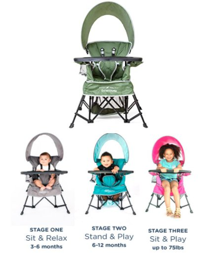 Amazon: Baby Delight Go with Me Venture Deluxe Portable Chair for $39.99 (Reg. Price $69.99)