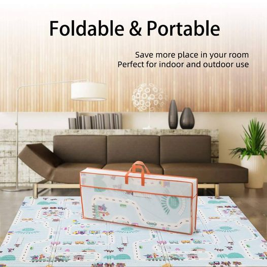 Amazon: Baby Play Mat Reversible Folding Extra Large, Just $29.99 (Reg $59.99) after code!
