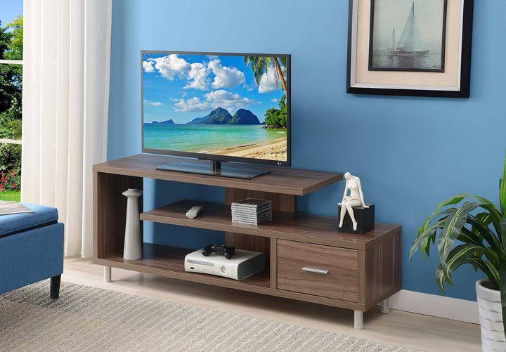 "Walmart: Convenience Concepts Seal II 60"" TV Stand, Just $109.12 (Reg $185.00)"