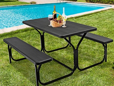 Tanga: Costway Outdoor Picnic Table for $159.99 (Reg. Price $299.99)