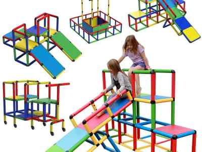 Macy's: Funphix Create and Play Life Size Structures All-in-1 Set, Just $503.99 (Reg $560.99)