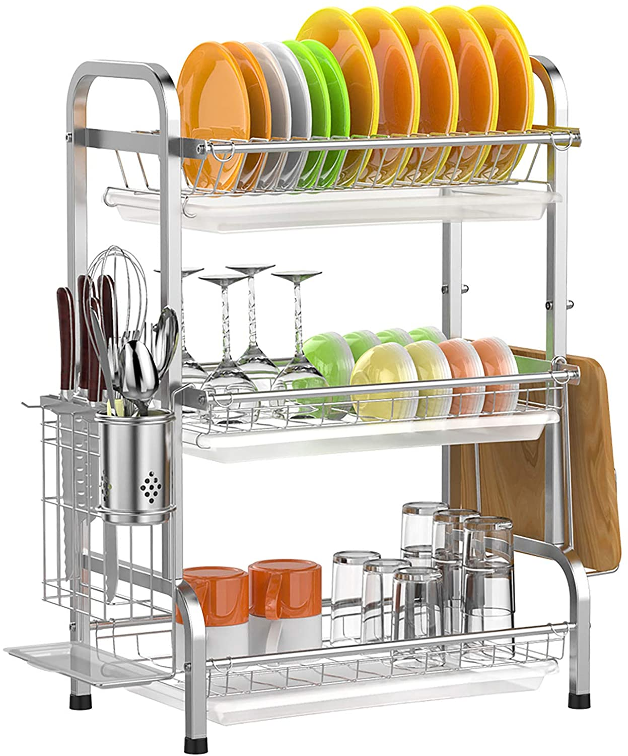 Amazon: Dish Drying Rack,Ace Teah 3 Tier Dish Drainer, Just $29.99 (Reg $49.99) after code!