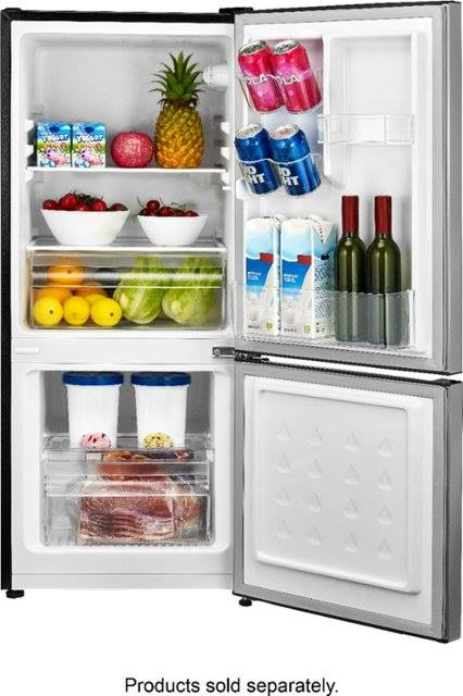 Best Buy: Insignia™ - 4.1 Cu. Ft. Mini Fridge with Bottom Freezer, Just $189.99 (Reg $279.99)