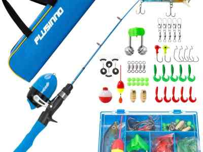 Amazon: Kids Fishing Pole,Telescopic Fishing Rod and Reel Combos, Just $19.99 (Reg $46.99) after code!