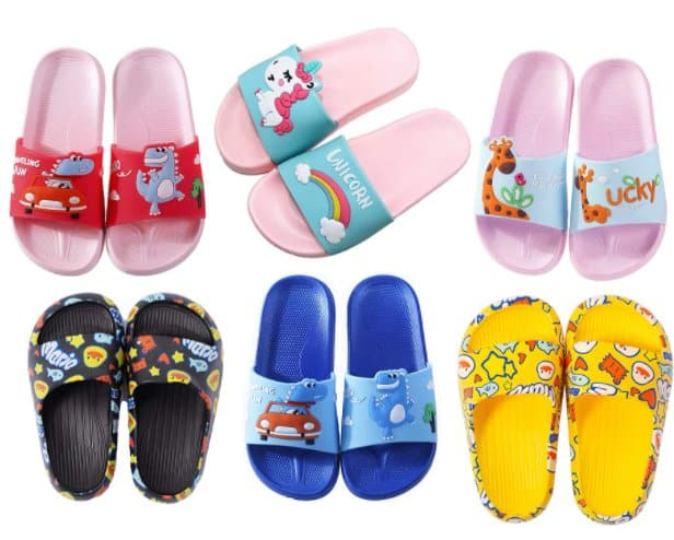 Amazon: Kids Slide Sandals for $9.59 (Reg. Price $15.98) after code!