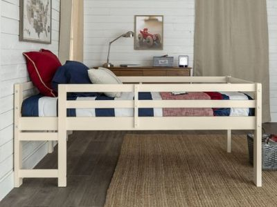 Walmart: Manor Park Traditional Solid Wood Twin Low Loft Bed, Just $199.97 (Reg $320.00)