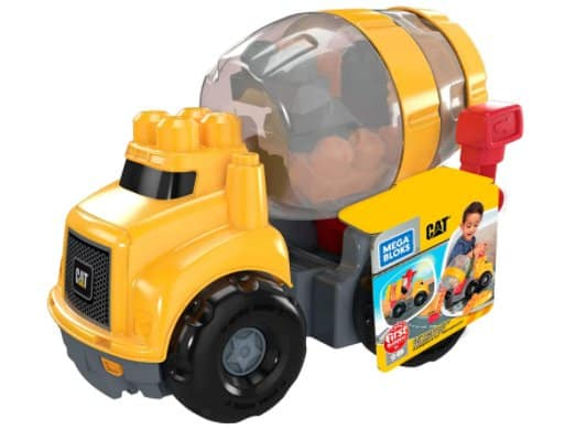 Amazon: Mega Bloks CAT Cement Mixer for $9.99 (Reg. Price $19.99)