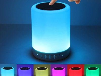 Amazon: Night Light Bluetooth Speaker, Just $9.99-17.99 (Reg $35.99) after code!