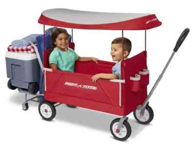 Walmart: Radio Flyer, 3-in-1 Tailgater Wagon with Canopy, Just $98.00 (Reg $129.00)