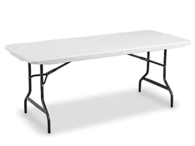 Staples: Folding Table 72-inch L x 29-inch for $49.99 (Reg. Price $81.29)