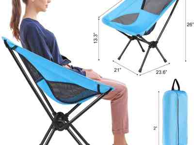 Amazon: Ultralight Portable Camping Chair, Just $17.49 (Reg $34.99) after code!