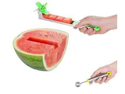Amazon: Watermelon Slicer with Melon Baller Scoop for $5.43