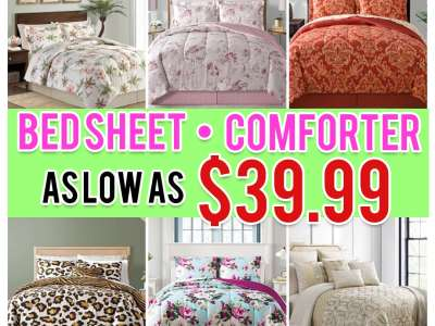 Macy's: 8 Piece Comforter Sets, Just $39.99 (Reg $100) Shipped!