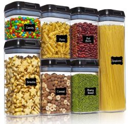 Amazon: 7pcs Ecowaare Airtight Food Storage $6.49 (Reg. $26.99)