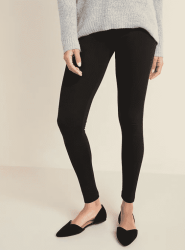 Old Navy: Mid-Rise Jersey Leggings ONLY $6.50 (Reg. $13)