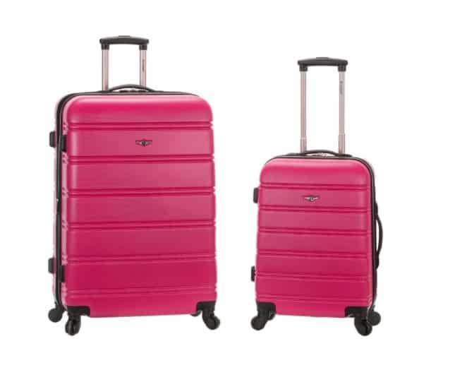 Home Depot: 2-Piece Hardside Spinner Luggage Set, Just $85 (Reg $340)