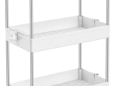 Amazon: 3 Tier Bathroom Organizers Rolling Utility Cart, Just $20.76 (Reg $25.99) after coupon!