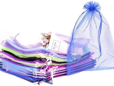 Amazon: 50 Pcs Large Organza Jewelry Pouches with Drawstring, Just $5.49 (Reg $11.99) after code!