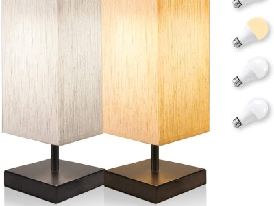 Amazon: Bedside Table Lamps, Bomcosy Touch Control Nightstand Lamp Set of 2, Just $31.79 (Reg $52.99) after code!