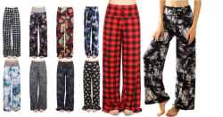Amazon: Buttery Soft Pajama Pants – Floral Print $8.80 (Reg. $16)