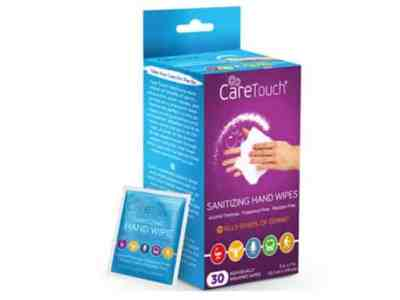 Amazon: Care Touch – 30 Individually Wrapped Antiseptic Wipes for $5.99
