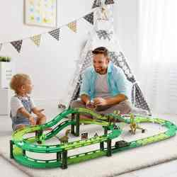 Amazon: Dinosaur World Road Race Car Track Set for only $10.99 (Reg: $35.99)