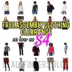 Walmart: Free Assembly Clothing  Clearance, Just as low as $4!