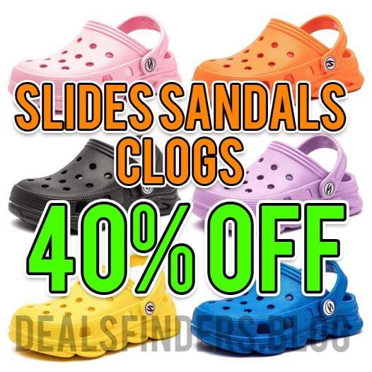 Amazon: Kid's Cute Garden Shoes Cartoon Slides Sandals Clogs Beach Slipper Children, 40% off!