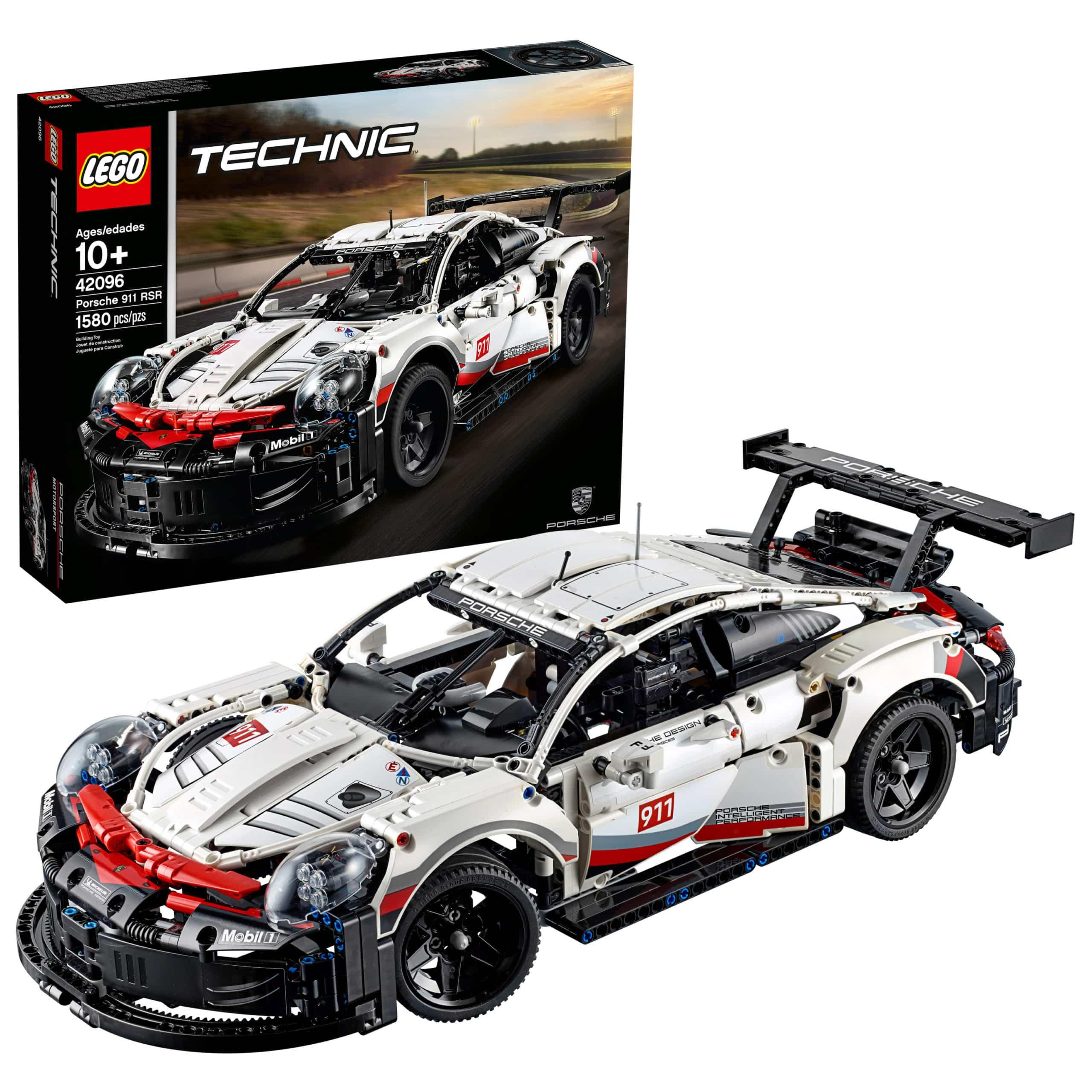 Walmart: LEGO Technic Porsche 911 RSR 42096 Race Car Building Set (1580 Pieces), Just $119.95 (Reg $149.99)