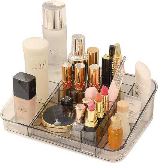 Amazon: Makeup Organizer Countertop - Acrylic, 8-Compartments, Just $5.85 (Reg $12.99) after code!